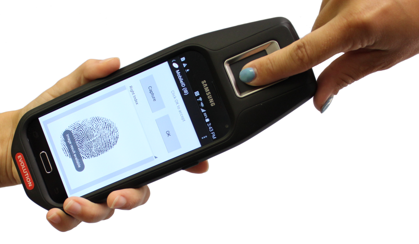 Evolution Mobile Fingerprint Device